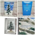 Vintage Lemax Memory Makers Snowy Mountain Pine Tree 10
