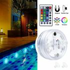 Swimming Pool Light 13 LED RGB Submersible Magnet Suction Cup Underwater Night