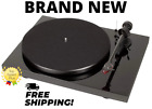 Pro Ject Debut Carbon DC Turntable with Ortofon 2M Red Cartridge Piano Black
