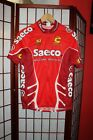 Saeco Cannondale Team cycling jersey size L ALY