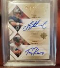 2008 Ultimate Signatures 2 Troy Aikman Tony Romo Dual Auto BGS 9 SP #09 15 Blue
