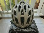 CANNONDALE CYPHER HELMET WHITE SILVER SIZE SMALL MEDIUM