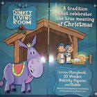 DONKEY IN LIVING ROOM NATIVITY SET CELEBRATES True Meaning Of Christmas Bible