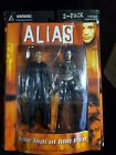 ALIAS Michael Vaughn & Sydney Bristow 2 Pack The COUP NEW