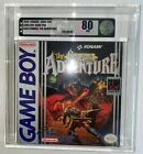The Castlevania Adventure Nintendo Game Boy Konami VGA 80 New, Factory Sealed