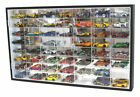 56 Hot Wheels 164 Scale Diecast Display Case Stand Mirrored Back TWO Door