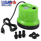 Heavy Duty Portable Electric Water Transfer Utility Pump 120V 1500 GPH 1 4 Horse