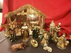 Stunning 12 piece LARGE Nativity Polyresin Set Figures Creche TARGET Lighted