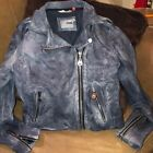Doma Grey Gray Leather Jacket Sz L Large Great Condition Runs Small M Medium