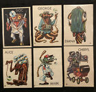 1965 Topps Ugly Stickers Trading Cards 8