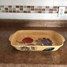Home Trends Granada Hand PaintedBaker Lasagna Dish 14 x 10Excellent Condition