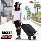 Dbest Products Bigger Trolley Dolly Foldable Shopping Cart