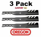 3 Pack Oregon 96 310 Gator G3 Mower Blade Fits Better Outdoors ACC 0022