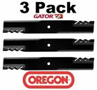 3 pack Oregon 396 740 Mower Blade Gator G6 Fits Dixon 12451 12508 13368