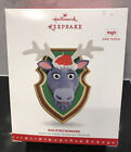 DOE-EYED REINDEER Hallmark Keepsake Ornament Magic Solar Motion Christmas Tree