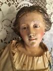 16 ANTIQUE NEAPOLITAN CRECHE FIGURE WITH WONDERFULLY EXPRESSIVE FACE