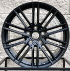 20 PORSCHE PANAMERA MESH STYLE TURBO GTS S WHEELS RIMS SATIN BLACK
