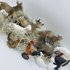 Animal Figurines Nativity Scene Set 11 Animales para Pesebre Nacimiento Nav