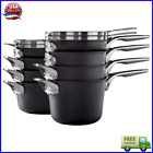 Calphalon Premier 12 piece Hard Anodized Space Saving Cookware Stacks and Nests