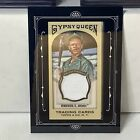 2011 Gypsy Queen Rickey Henderson Jersey Patch Athletics R2