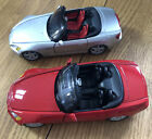 Honda S 2000 Convertible Red  Silver Car Set 124 Scale Maisto Diecast Detai