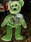 Luckier Beanie Baby St Patrick's 3 leaf clover