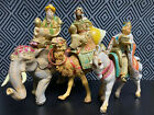 NEW w o box 5 Scale The Three Kings Journey on Animals Set by Fontanini 1992