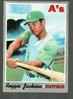 Reggie Jackson Baseball Cards, Rookie Cards and Autographed Memorabilia Guide 12