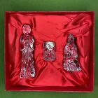 16 piece Waterford Crystal Christmas Nativity Set Complete Great Condition