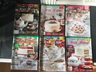 Lot of 6 Tea Time Annual Holiday Issue Magazines 2020 201720182019