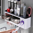 New Bathroom Accessories set Automatic Toothpaste Dispenser Toothbrush Holder