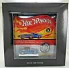 Hot Wheels RLC Original 16 Blue Custom Camaro in Black Box Redlines 2124 3000