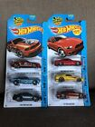 2014 Hot Wheels Ford Mustang Lot Of 6 Different Variants w Kmart Exclusive