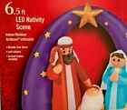 NEW 65 FT WIDE 59 FT TALL NATIVITY SCENE JESUS MARY JOSEPH GEMMY INFLATABLE