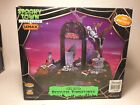 2007 Lemax Spooky Town Village Restless Tombstones Animated Halloween Retired