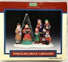 1995 Lemax Village Accessory #53134 Porcelain Group Christmas Carollers