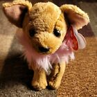 Ty Beanie Baby Babies Plush Dog Pink Puppy Chihuahua Divalectable With Tags 2006