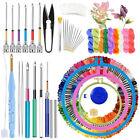 Magic Embroidery Pen Punch Needle Kit Cross Stitch Threads DIY Sewing Tools Kit