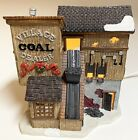 Lemax 2000 Caddington Christmas Village Coal Dealer Lighted Porcelain Used