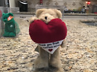 """Retired Boyd's Bear ~ Manny ~ Thank You From the Bottom of My Heart ~ 8"""" ~ NWT !"""