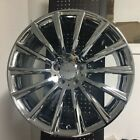 22 AMG CHROME RIMS WHEELS FITS MERCEDES BENZ R CLASS R350 R500 R550