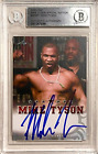 Mike Tyson Signs Autograph, Card and Memorabilia Deal with Upper Deck 22