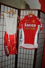 Saeco Cannondale cycling Team jersey with shorts  size M ALY
