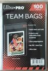(100) Ultra Pro Team Set Bags Resealable Sleeves Sealed Pack (Ultra Pro # 81130)