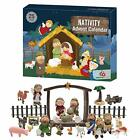 Advent Calendar 2020 25 Days of Christmas Nativity Scene Set Countdown to