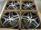 20 ML63 STYLE BLACK WHEELS RIMS FITS MERCEDES BENZ M ML GL CLASS 4MATIC