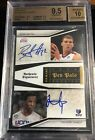 2009 10 National Treasures NBA Pen Pals Griffin Thabeet #25 50 Auto BGS 9.5 10