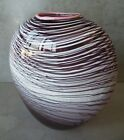 c1987 KYLE GRIBSKOV Signed Hand Blown Art Glass 65 Oval Vase