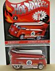 Hot Wheels 2006 RLC Exclusive Customized VW Drag Bus Red Redline Real Riders