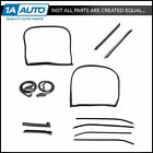 Weatherstrip Seal Kit 12 Piece Set for 73 77 Chevy Corvette Coupe w T Top New
